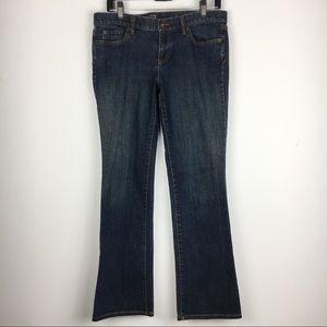 LOFT Modern Boot Jeans Size 8